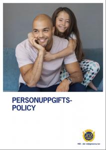 Personuppgiftspolicy